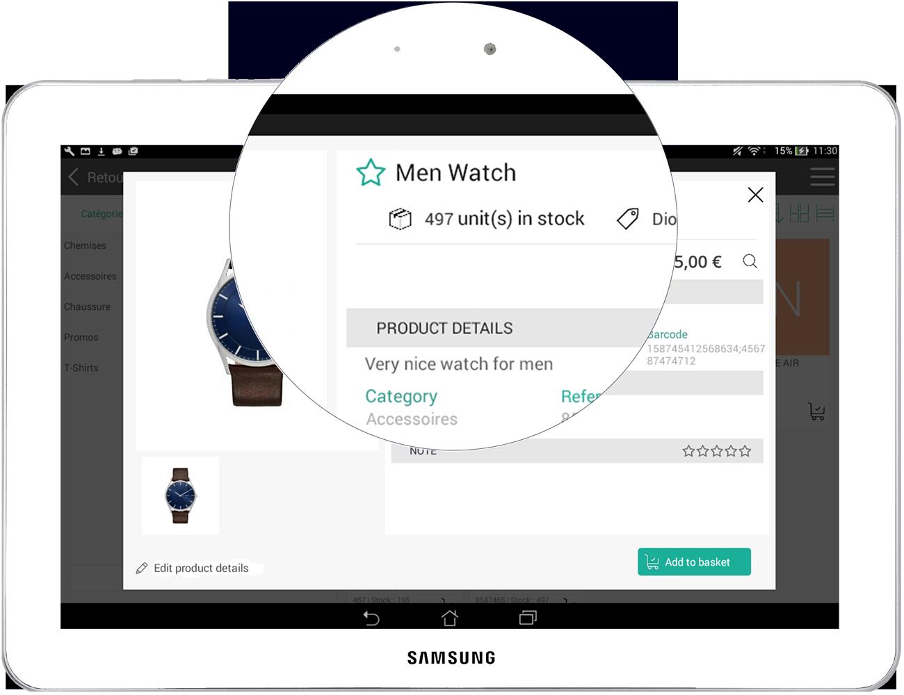 El software de caja registradora RoverCash le permite administrar su inventario en tiempo real