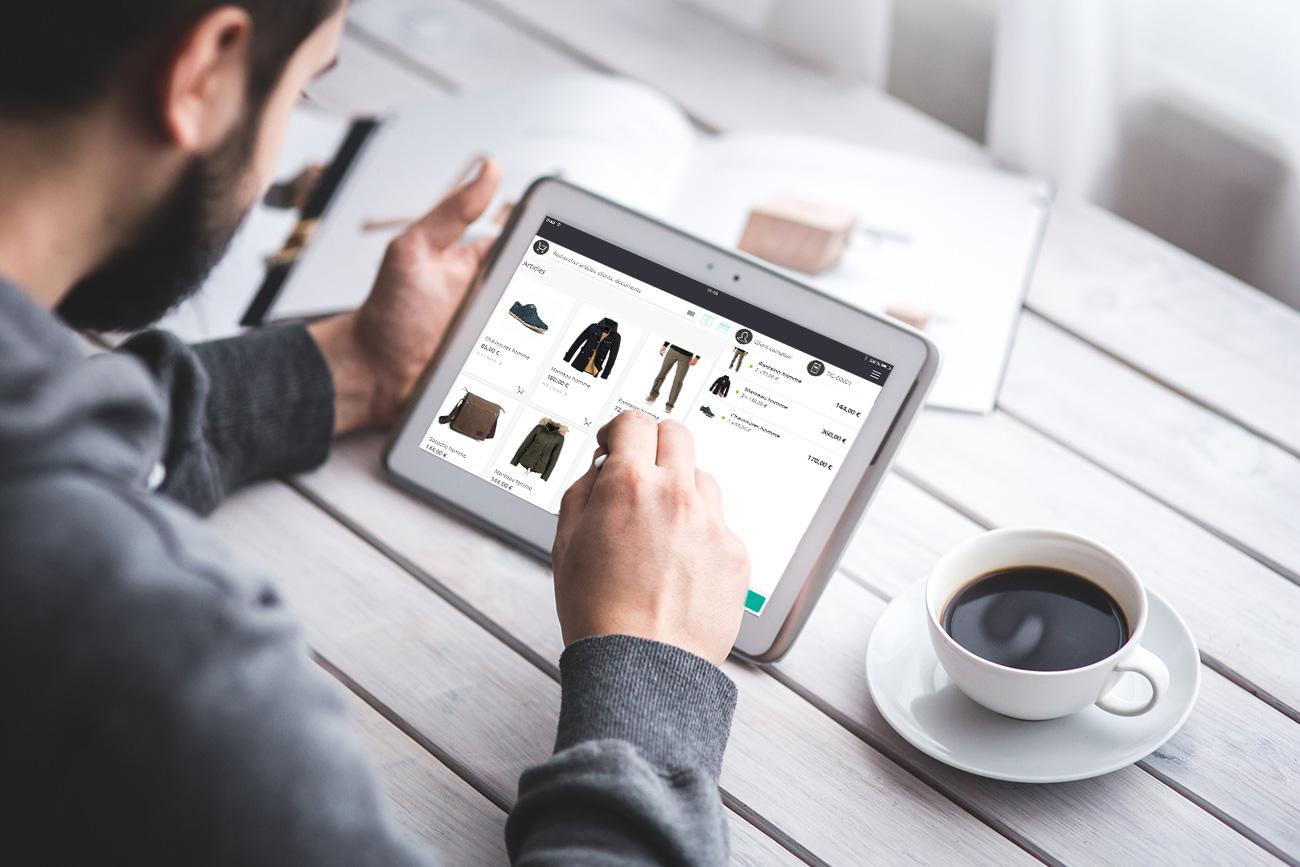 La aplicación de caja RoverCash conecta tu negocio.