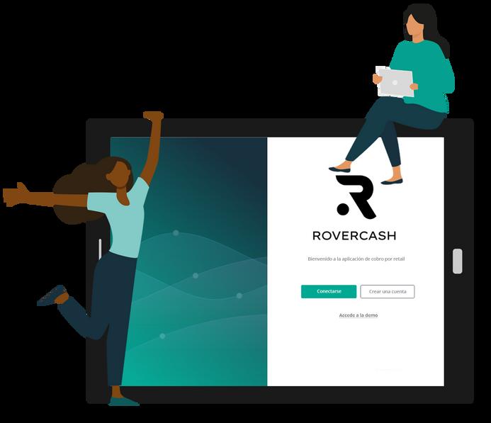 Todas las funcionalidades de la solución RoverCash